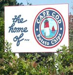 cape cod potato chip sign