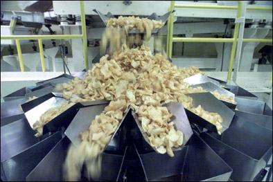 potato chip sorter