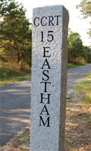 Eastham trail marker