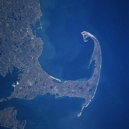 Cape Cod Satellite photo