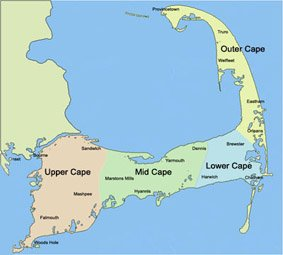 cape cod towns
