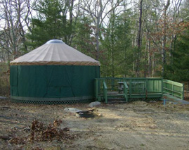 Nickerson yurt
